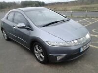 2006 HONDA CIVIC DIESEL 5 DOOR WITH A FULL 12 MONTHS MOT, FULL SERVICE HISTORY, 146,000 MILES