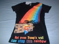 Joblot BNWT New Rainbow Gay Lesbian LGBT Pride Womans All Sizes T Shirts Approx 3150 in Total