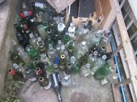 Mixed Selection of Glass Bottles