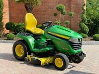 """John Deere X590 Ride on mower - 48"""" Mulch deck - lawnmower - Honda / Toro / Kubota"""