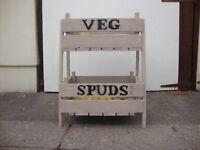 Veg rack wooden