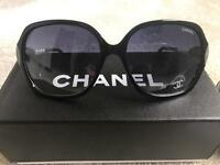 Black Chanel sunglasses brand new ladies