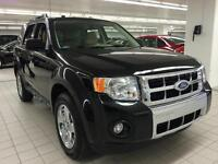 2011 FORD  AWD ESCAPE LIMITED CUIR,BANC CHAUFFANT+