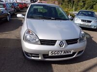 Renault Clio 1.2 Campus Sport I-Music +MOT AUG 17+6 STAMPS+IDEAL FIRST CAR+3 MONTH WARRANTY INCLUDED