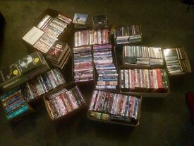 !! Job Lot - DVD/CD/Books over x 300 items House Clearance !!
