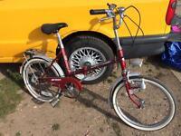 Sovereign 33 year old folding.bike