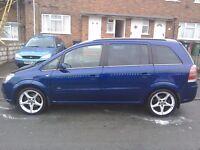 Vauxhall zafira cdti Sri 150 bhp.