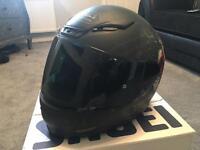 Shoei nxr brigand motorbike helmet size S
