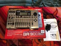 Boss BR-900CD Digital Recorder for Sale, Great Condition and Great Bargain!