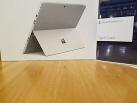 Microsoft Surface Pro 4 + official blue keyboard - 25GB SSD, 8GB i5 2.4ghz - 2 months old as new