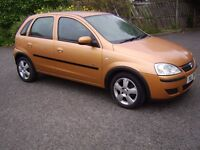 2004 Vauxhall corsa 1.0 for sale 83000 miles