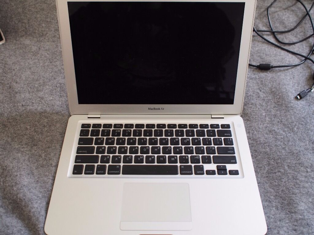 APPLE MACBOOK AIR (A1237) FOR PARTS OR NOT WORKINGin Hampstead, LondonGumtree - Hello! I have to sell MacBook Air A1237. I dont know what happened but one day I just had a system crash, and then I couldnt turn on the system. On the screen was appearing white background with some folder with question mark sign (you can see that...