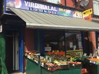 Greater Manchester convenience store-Vird Halal Meat store