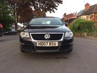 VW Passat dsg tdi, black, new MOT, two keys, one previous owner