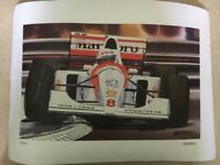 Iconic F1 limited edition prints by M Abbott