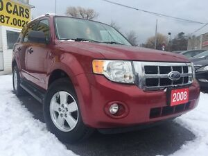 2008 Ford Escape XLT/SUV/LEATHER/ROOF/LOADED/ALLOYS