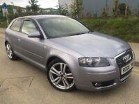 2006 Audi A3 Sportback Quattro 2.0 Tdi 140 6 speed # cruise # 18 inch alloys # Cheap insurance