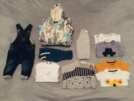Baby 👶🏽 boys 0-3m bundle of clothes