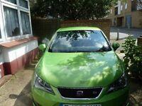 SEAT Ibiza FR Tsi 1.2 Lima Green with Xenon headlights.