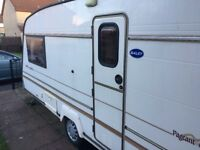 2 berth bailey majenta caravan 1994
