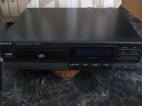 PANASONIC CD PLAYER - Separate Component - Black