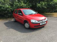 Vauxhall Corsa Club 16v 5dr MOT JULY 19 Ideal new driver (red) 2001