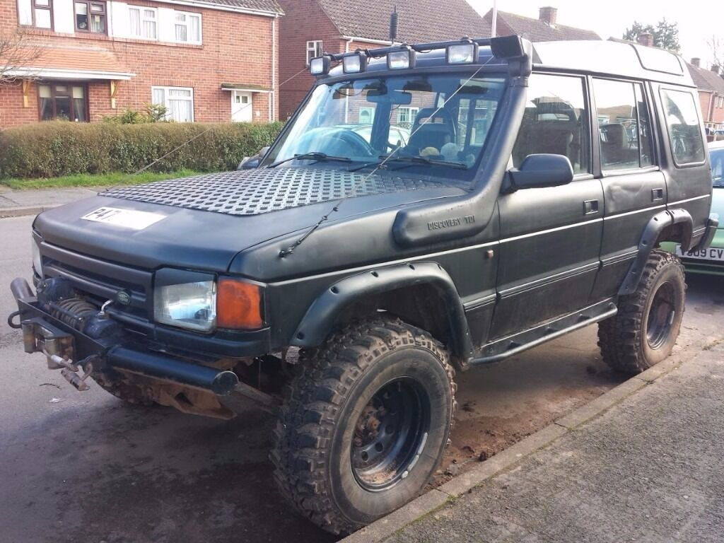 modified land rover discovery off road 4x4 1997 300tdi