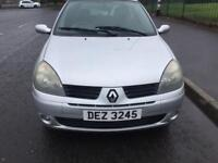 2005 RENAULT CLIO 1.1 FULL MOT AND SERVICE HISTORY