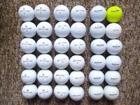36 Taylormade, Wilson DX2soft, Bridgestone e6 golf balls immaculate condition