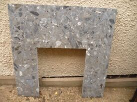 Fire place surround 935 x 935mm, inner space 460 x 560mm