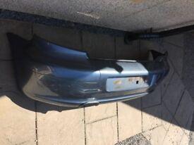 Peugeot 307 Rear Bumper Iron Grey