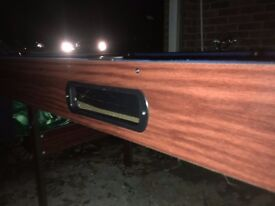 Pool table. Folding legs, used but works well.