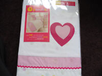 Girls Pink Single Quilt Cover Set
