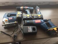 RYOBI selection of cordless power tools