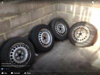 Vw t5 transporter steel wheels