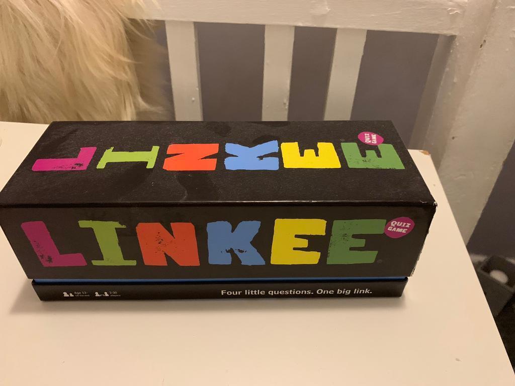 LINKEE Board Game Used