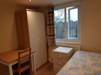 LOVELY ROOM NEWLY REFURBISHED WITH OWN EN-SUITE - FULLY FURNISHED. 5 MINS FROM STATION