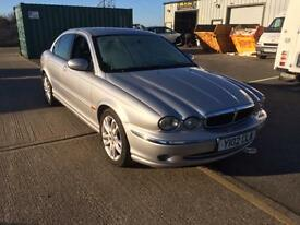 JAGUAR X-TYPE 2.5V6- 12 MONTHS MOT/ FULL LEATHER