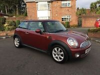 2008 MINI COOPER ** FULL CREAM LEATHER INTERIOR ** START/STOP ** ALL MAJOR CARDS ACCEPTED