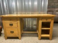 Solid oak desk * free furniture delivery *