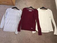 Ladies jumper bundle size 10-12 Superdry, Fat Face & H&M