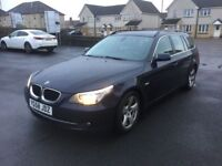 STUNNING 2008 58 BMW 520D SERVICE HISTORY 1 OWNER RELIABLE CAR PX WELCOME £3295