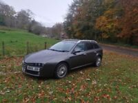 ALFA ROMEO 159 2.4 JTDM ESTATE/SPORTSWAGON DIESEL FSH AND ONLY ONE OWNER!!
