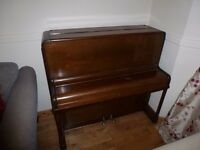 Beautiful Short STAHL Upright Piano