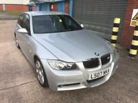 bmw 320d m sport 2007 07 plate saloon manual alloy wheels