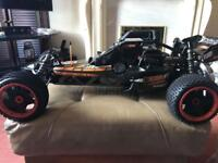 Baha baja 23cc 2/ petrol buggy hpi racing