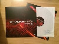 Traktor Scratch Control Vinyl MK2 Black