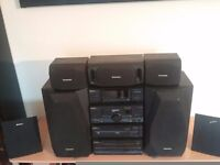 TECHNICS SC-CH770 STEREO SYSTEM PLUS HOME CINEMA SURROUND SPEAKERS