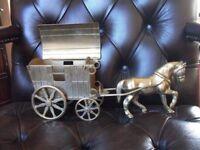 BRASS HORSE AND GYPSY CARAVAN