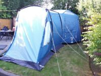 Vango Aspen 500 DLX Family Tent, good size and condition